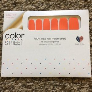 Color Street- Fire Island Flame NIP